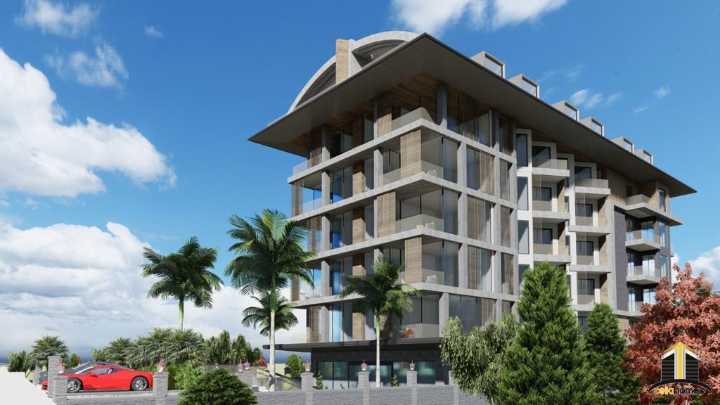 Serenity Beach nytt projekt i Oba endast 30m till stranden