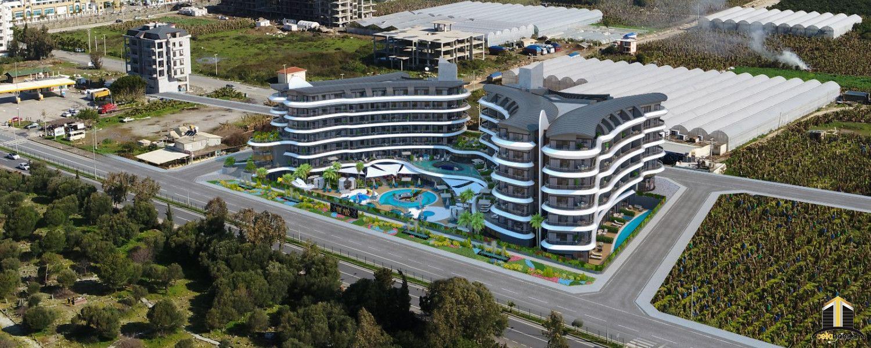 Exclusive premium class complex apartments